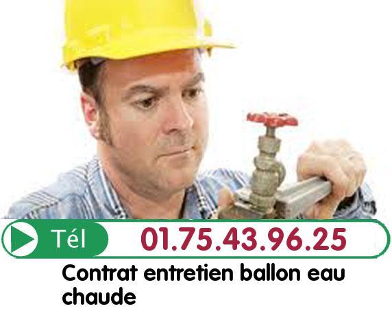 Depannage Ballon eau Chaude Oise