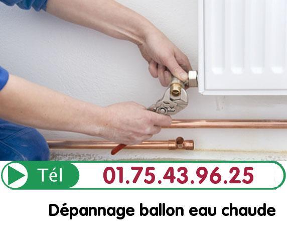 Depannage Ballon eau Chaude